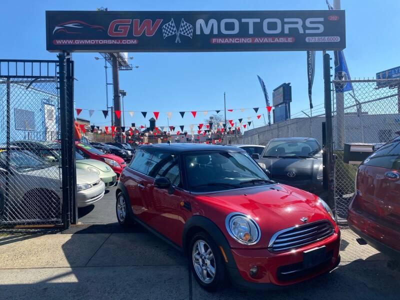2013 MINI Hardtop for sale at GW MOTORS in Newark NJ