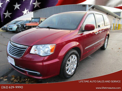 2015 Chrysler Town and Country for sale at Lifetime Auto Sales and Service in West Bend WI