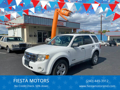 2008 Ford Escape Hybrid for sale at FIESTA MOTORS in Hagerstown MD