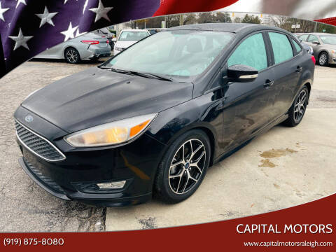2016 Ford Focus for sale at Capital Motors in Raleigh NC