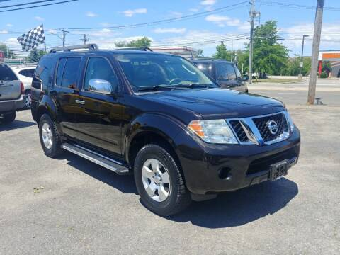 2011 Nissan Pathfinder for sale at Viking Auto Group in Bethpage NY