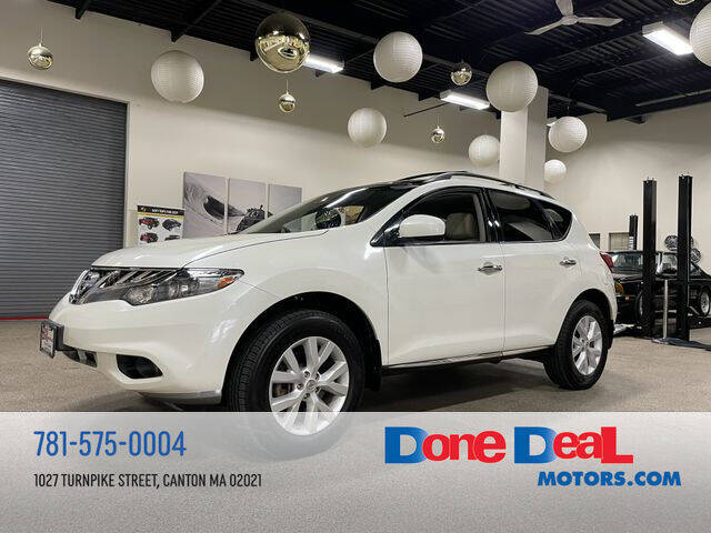 2011 Nissan Murano for sale at DONE DEAL MOTORS in Canton MA
