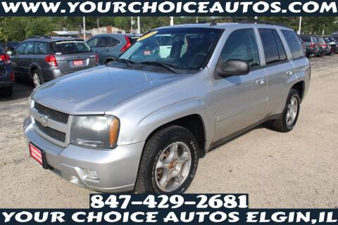 2008 Chevrolet TrailBlazer for sale at Your Choice Autos - Elgin in Elgin IL