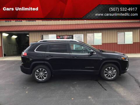 2019 Jeep Cherokee for sale at Cars Unlimited in Marshall MN
