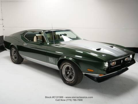 1971 Ford Mustang for sale at Sierra Classics & Imports in Reno NV