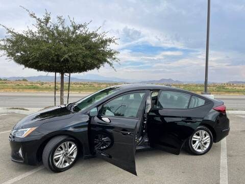 2019 Hyundai Elantra for sale at Canyon Auto Group in Riverside CA