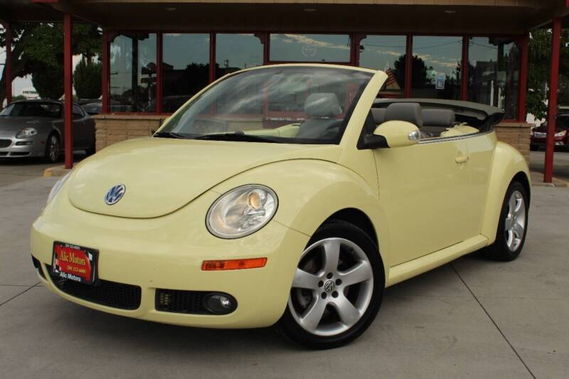 2006 Volkswagen New Beetle Convertible for sale at ALIC MOTORS in Boise ID