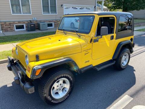 2001 Jeep Wrangler for sale at Jordan Auto Group in Paterson NJ
