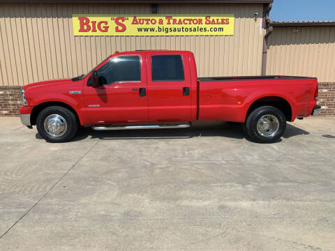 2006 Ford F-350 Super Duty for sale at BIG 'S' AUTO & TRACTOR SALES in Blanchard OK