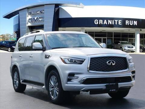 2018 Infiniti QX80 for sale at GRANITE RUN PRE OWNED CAR AND TRUCK OUTLET in Media PA