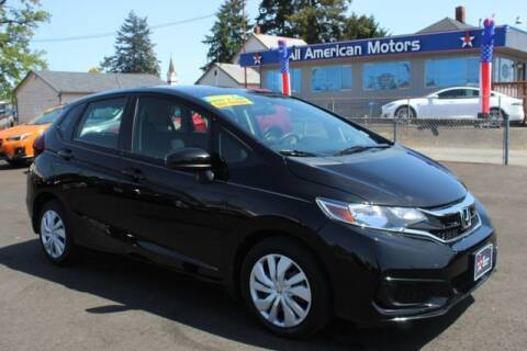 2018 Honda Fit for sale at All American Motors in Tacoma WA