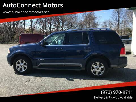 2004 Lincoln Aviator for sale at AutoConnect Motors in Kenvil NJ