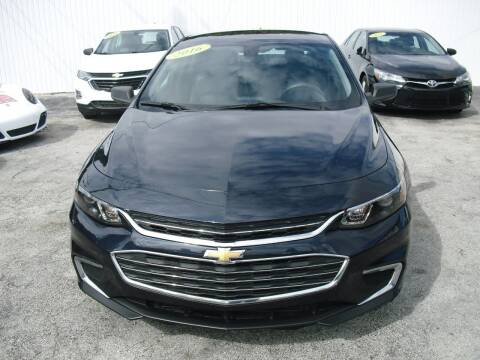 2016 Chevrolet Malibu for sale at SUPERAUTO AUTO SALES INC in Hialeah FL