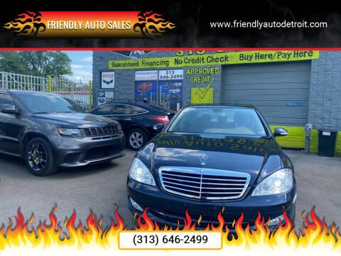 2008 Mercedes-Benz S-Class for sale at Friendly Auto Sales in Detroit MI