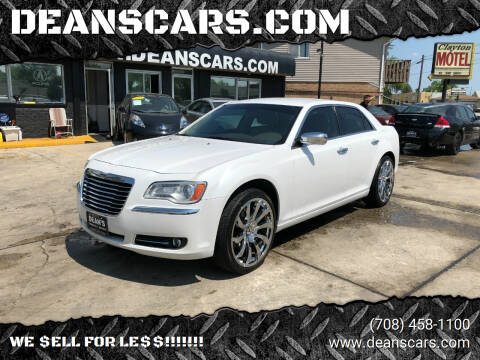 2011 Chrysler 300 for sale at DEANSCARS.COM in Bridgeview IL