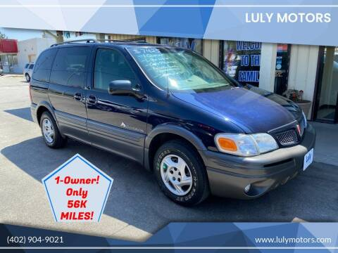 2003 Pontiac Montana for sale at Luly Motors in Lincoln NE