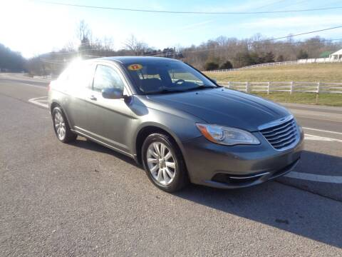 2012 Chrysler 200 for sale at Car Depot Auto Sales Inc in Seymour TN