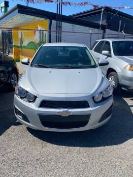 2014 Chevrolet Sonic for sale at E-Z Pay Used Cars in McAlester OK
