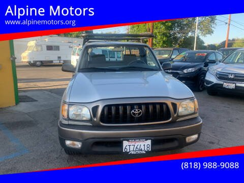2002 Toyota Tacoma for sale at Alpine Motors in Van Nuys CA