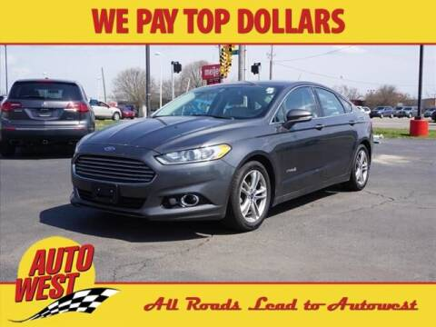 2015 Ford Fusion Hybrid for sale at Autowest Allegan in Allegan MI