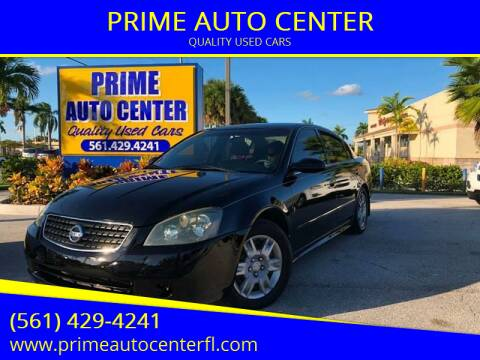 2005 Nissan Altima for sale at PRIME AUTO CENTER in Palm Springs FL