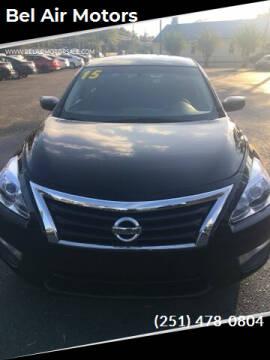 2015 Nissan Altima for sale at Bel Air Motors in Mobile AL