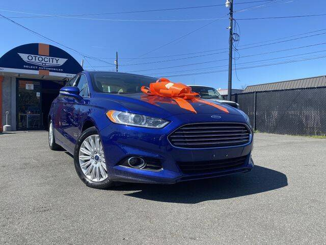 2014 Ford Fusion Energi for sale in Totowa, NJ