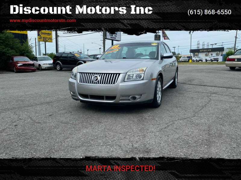 2008 Mercury Sable for sale at Discount Motors Inc in Madison TN