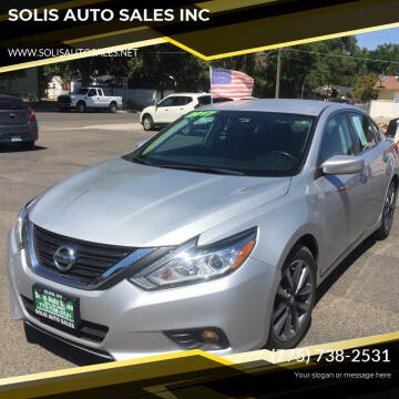 2017 Nissan Altima for sale at SOLIS AUTO SALES INC in Elko NV