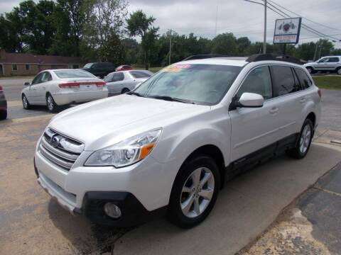2013 Subaru Outback for sale at High Country Motors in Mountain Home AR
