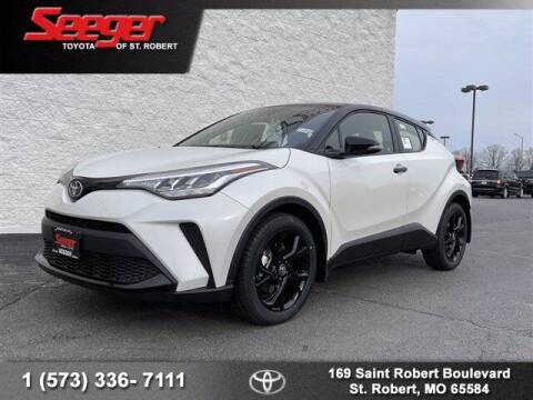 2021 Toyota C-HR for sale at SEEGER TOYOTA OF ST ROBERT in St Robert MO
