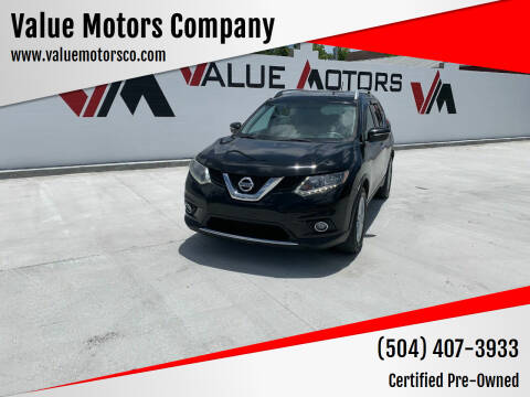 2014 Nissan Rogue for sale at Value Motors Company in Marrero LA