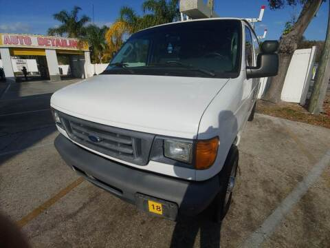 2007 Ford E-Series Cargo for sale at Autos by Tom in Largo FL