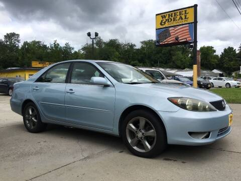 2005 Toyota Camry for sale at Wheel & Deal Auto Sales Inc. in Cincinnati OH