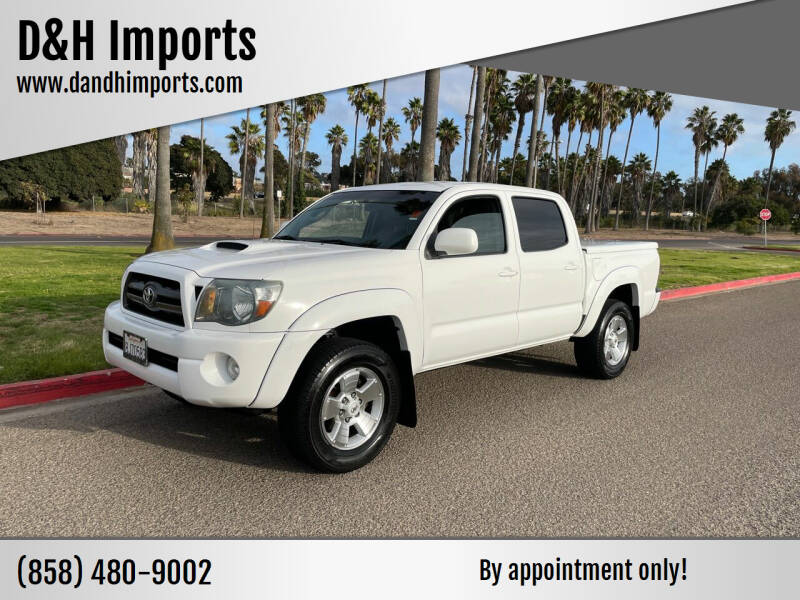 2010 Toyota Tacoma for sale at D&H Imports in San Diego CA