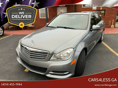 2014 Mercedes-Benz C-Class for sale at Cars4Less GA in Alpharetta GA