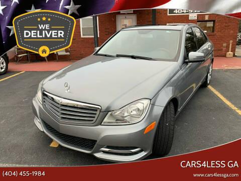 2014 Mercedes-Benz C-Class for sale at Cars4Less GA in Alpharetta GA
