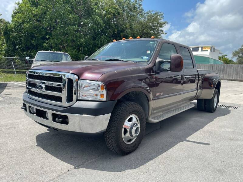 2004 Ford F-350 Super Duty for sale at Truck Depot in Miami FL