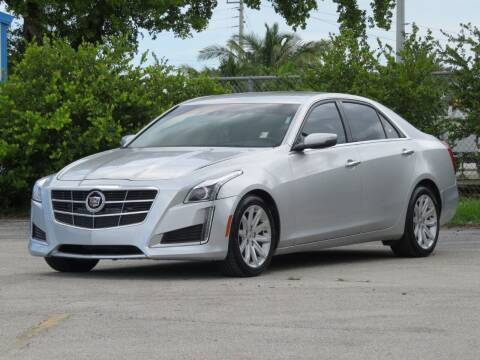 2014 Cadillac CTS for sale at DK Auto Sales in Hollywood FL