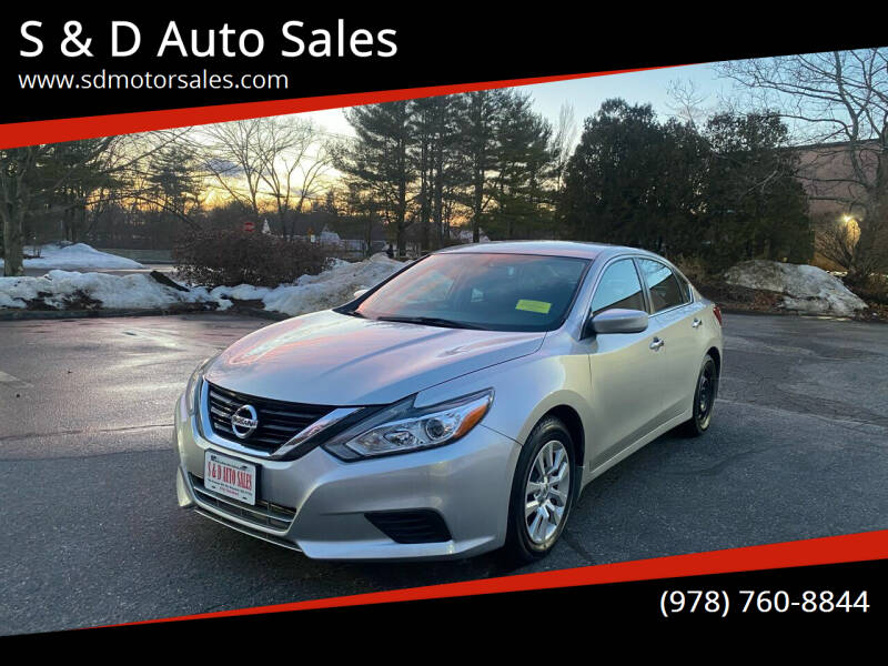 2017 Nissan Altima for sale at S & D Auto Sales in Maynard MA