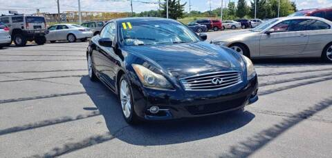 2011 Infiniti G37 Convertible for sale at I-80 Auto Sales in Hazel Crest IL
