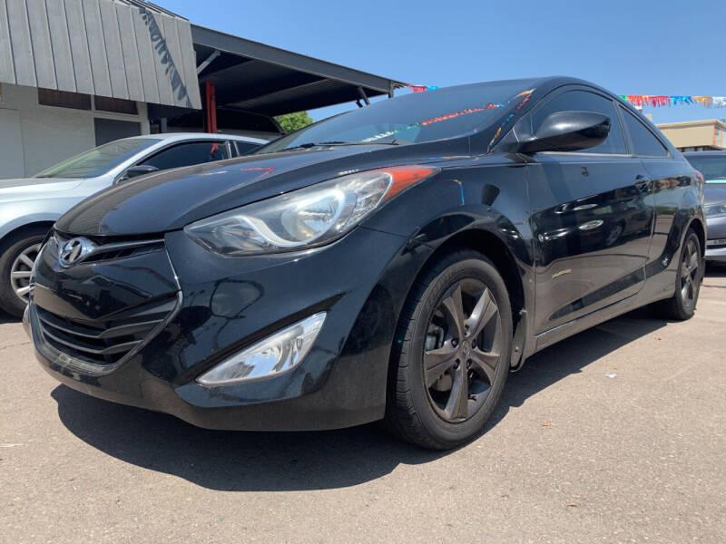 2013 Hyundai Elantra Coupe for sale at Hyatt Car Company in Phoenix AZ