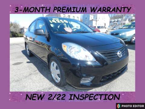 2012 Nissan Versa for sale at 2010 Auto Sales in Glassport PA