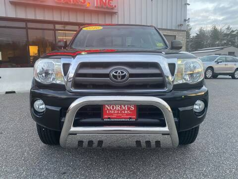 2010 Toyota Tacoma for sale at Norm's Used Cars INC. in Wiscasset ME