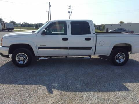 2006 Chevrolet Silverado 1500HD for sale at KESLER AUTO SALES in St. Libory IL
