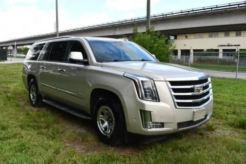 2017 Cadillac Escalade ESV for sale at AE Of Miami in Miami FL
