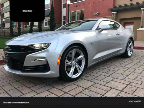 2019 Chevrolet Camaro for sale at Platinum Motors in San Bruno CA