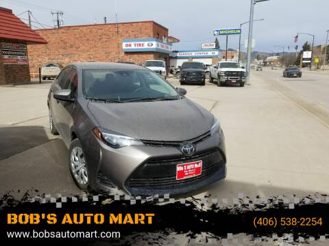 2018 Toyota Corolla for sale at BOB'S AUTO MART in Lewistown MT
