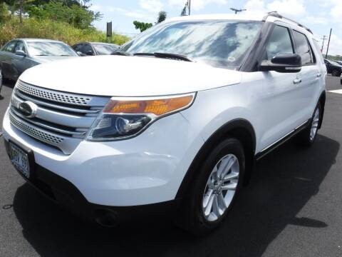 2014 Ford Explorer for sale at PONO'S USED CARS in Hilo HI
