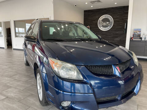 2003 Pontiac Vibe for sale at Evolution Autos in Whiteland IN